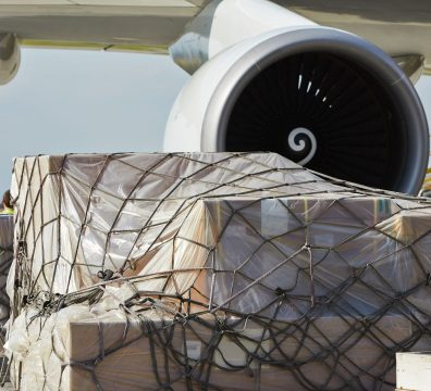 Freight loading into Aircraft