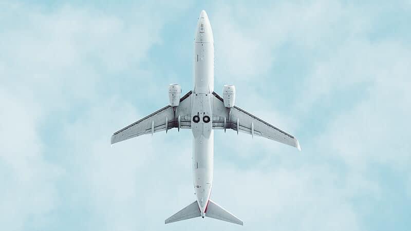 Cargonet Plane in the sky
